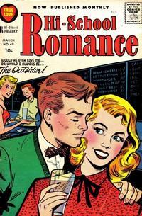Cover Thumbnail for Hi-School Romance (Harvey, 1949 series) #49
