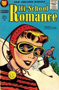 Cover Thumbnail for Hi-School Romance (Harvey, 1949 series) #50