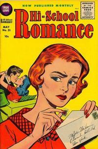 Cover for Hi-School Romance (Harvey, 1949 series) #51