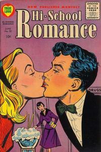 Cover Thumbnail for Hi-School Romance (Harvey, 1949 series) #52