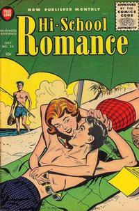 Cover Thumbnail for Hi-School Romance (Harvey, 1949 series) #53