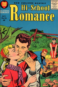 Cover Thumbnail for Hi-School Romance (Harvey, 1949 series) #56
