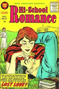 Cover Thumbnail for Hi-School Romance (Harvey, 1949 series) #57
