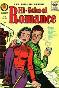 Cover Thumbnail for Hi-School Romance (Harvey, 1949 series) #59