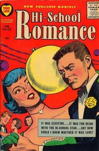 Cover Thumbnail for Hi-School Romance (Harvey, 1949 series) #60