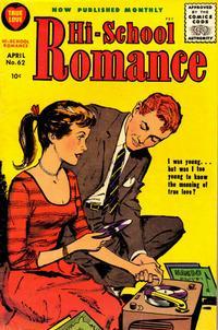 Cover Thumbnail for Hi-School Romance (Harvey, 1949 series) #62