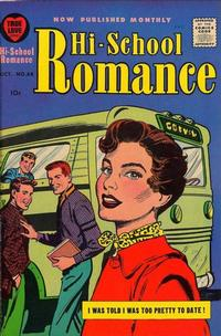 Cover Thumbnail for Hi-School Romance (Harvey, 1949 series) #68