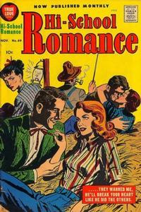 Cover Thumbnail for Hi-School Romance (Harvey, 1949 series) #69