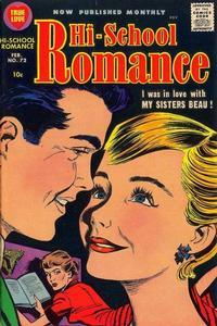 Cover Thumbnail for Hi-School Romance (Harvey, 1949 series) #72