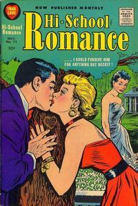 Cover Thumbnail for Hi-School Romance (Harvey, 1949 series) #75