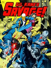 Cover Thumbnail for Gil Kane's Savage (Fantagraphics, 1982 series) #1