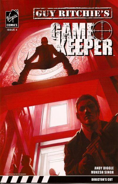 Cover for Gamekeeper (Virgin, 2007 series) #4 [Regular Cover]