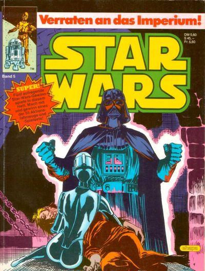 Cover for Star Wars (Egmont Ehapa, 1984 series) #5