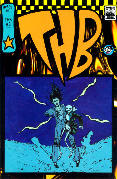 Cover for THB (Horse Press, 1994 series) #3