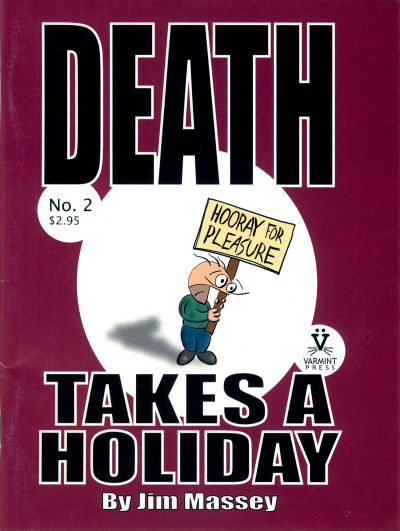 Cover for Death Takes a Holiday (Varmint Press, 2003 series) #2