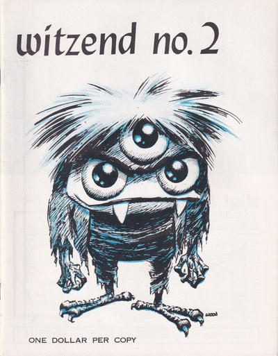 Cover for Witzend (Wallace Wood, 1966 series) #2