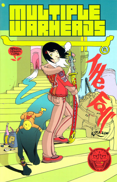Cover for Multiple Warheads (Oni Press, 2007 series) #1