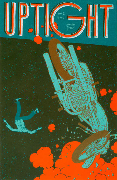 Cover for Uptight (Fantagraphics, 2006 series) #1