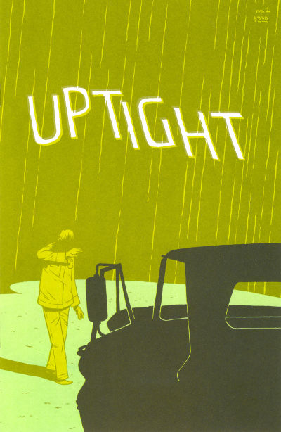Cover for Uptight (Fantagraphics, 2006 series) #2