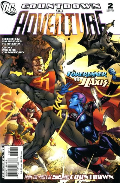 Cover for Countdown to Adventure (DC, 2007 series) #2