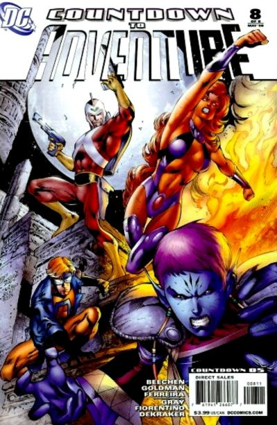 Cover for Countdown to Adventure (DC, 2007 series) #8