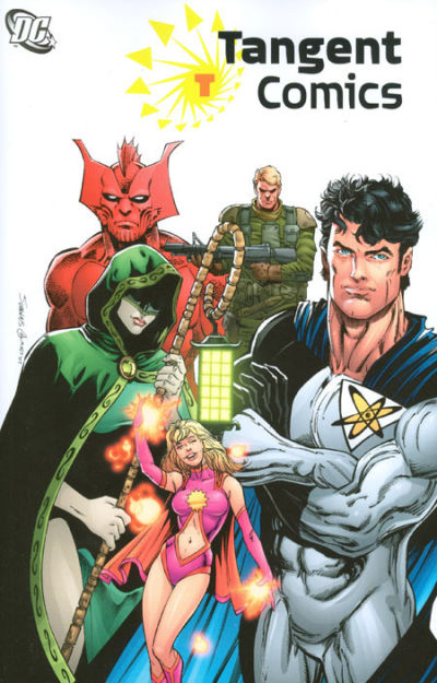 Cover for Tangent Comics (DC, 2007 series) #1