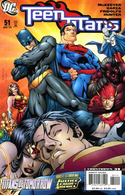 Cover for Teen Titans (DC, 2003 series) #51