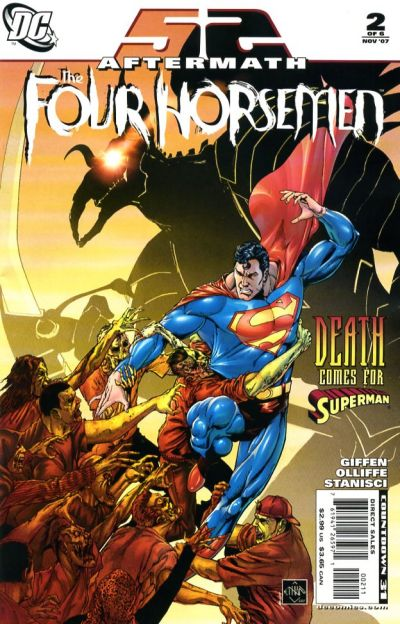 Cover for 52 Aftermath: The Four Horsemen (DC, 2007 series) #2