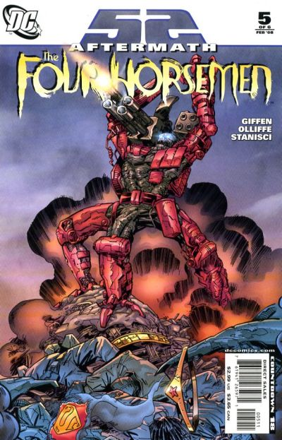 Cover for 52 Aftermath: The Four Horsemen (DC, 2007 series) #5