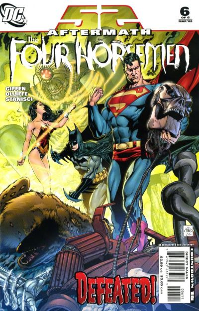 Cover for 52 Aftermath: The Four Horsemen (DC, 2007 series) #6