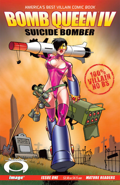 Cover for Bomb Queen IV Suicide Bomber (Image, 2007 series) #1