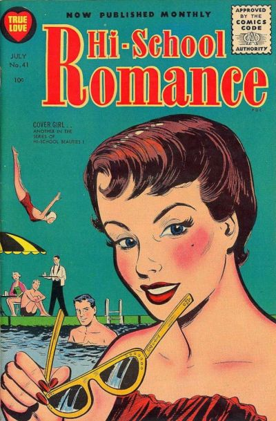 Cover for Hi-School Romance (Harvey, 1949 series) #41