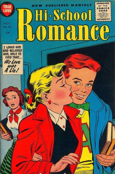 Cover for Hi-School Romance (Harvey, 1949 series) #45
