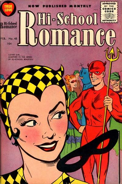 Cover for Hi-School Romance (Harvey, 1949 series) #48