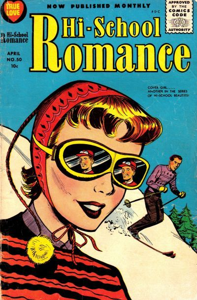 Cover for Hi-School Romance (Harvey, 1949 series) #50