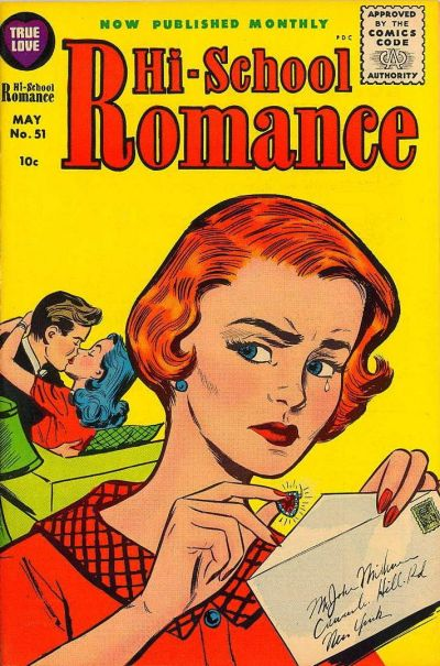 Cover for Hi-School Romance (Harvey, 1949 series) #51