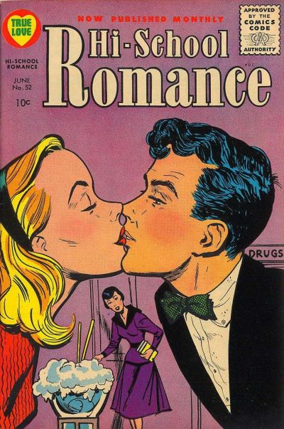 Cover for Hi-School Romance (Harvey, 1949 series) #52