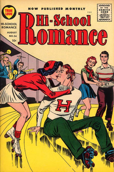 Cover for Hi-School Romance (Harvey, 1949 series) #54
