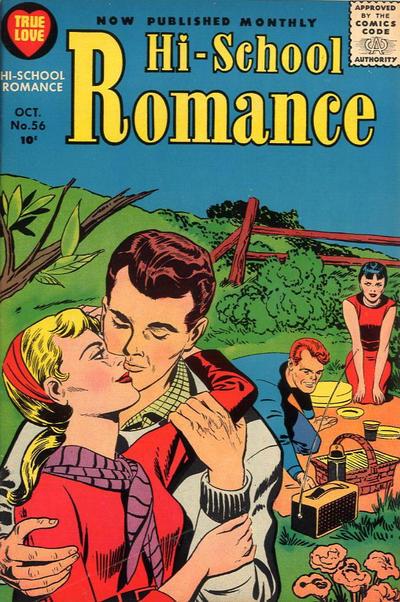 Cover for Hi-School Romance (Harvey, 1949 series) #56