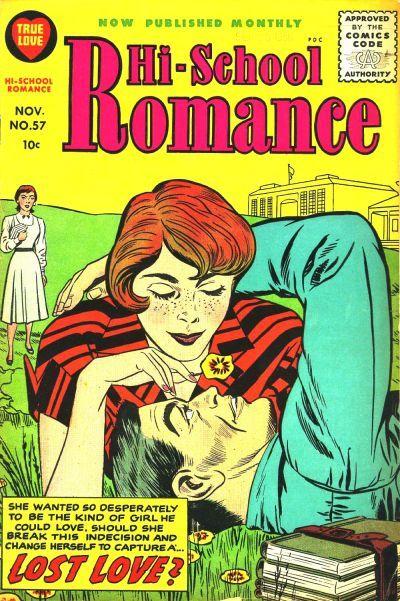 Cover for Hi-School Romance (Harvey, 1949 series) #57