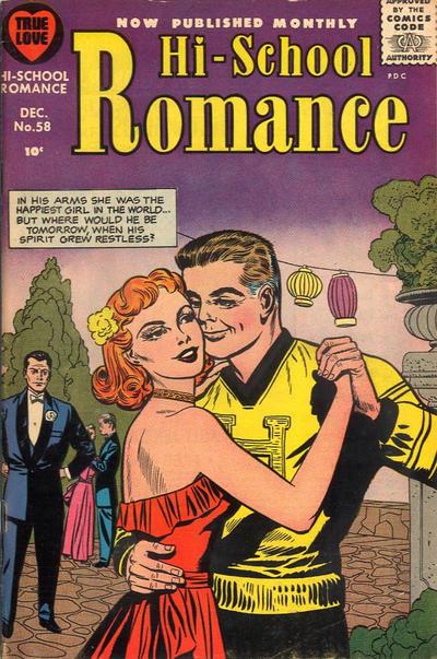 Cover for Hi-School Romance (Harvey, 1949 series) #58