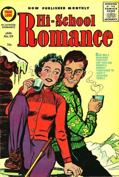 Cover for Hi-School Romance (Harvey, 1949 series) #59
