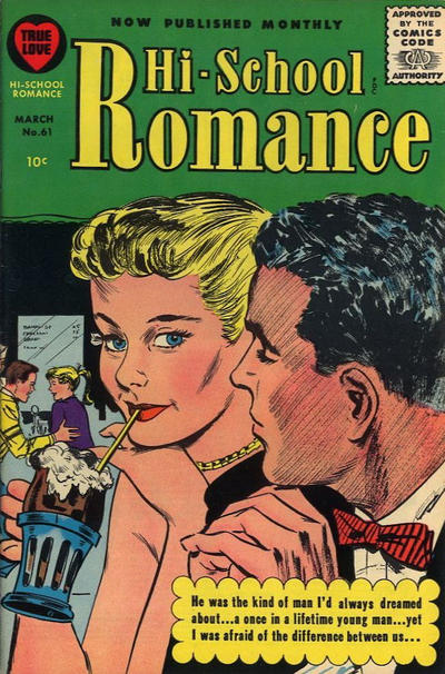 Cover for Hi-School Romance (Harvey, 1949 series) #61