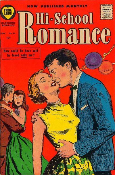 Cover for Hi-School Romance (Harvey, 1949 series) #64