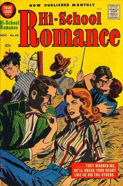 Cover for Hi-School Romance (Harvey, 1949 series) #69