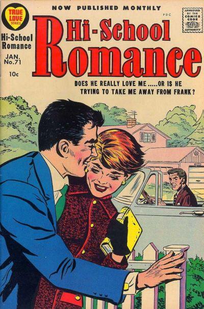 Cover for Hi-School Romance (Harvey, 1949 series) #71