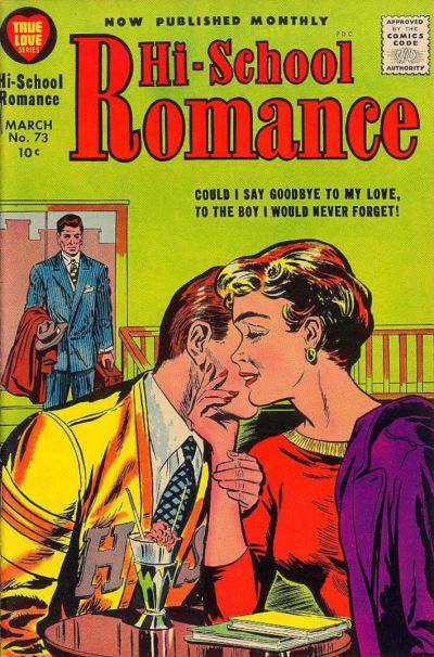 Cover for Hi-School Romance (Harvey, 1949 series) #73