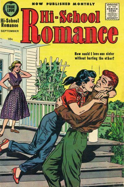 Cover for Hi-School Romance (Harvey, 1949 series) #74