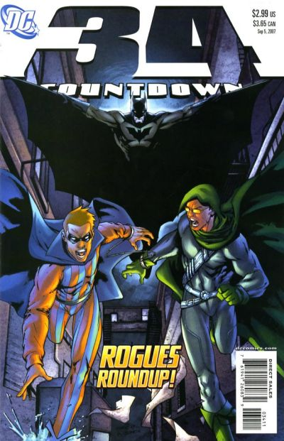 Cover for Countdown (DC, 2007 series) #34