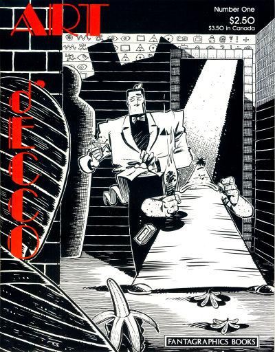 Cover for Art D'Ecco (Fantagraphics, 1990 series) #1